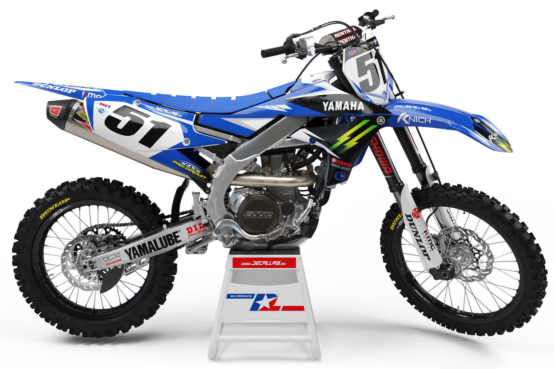 Monster Energy Yamaha Graphics