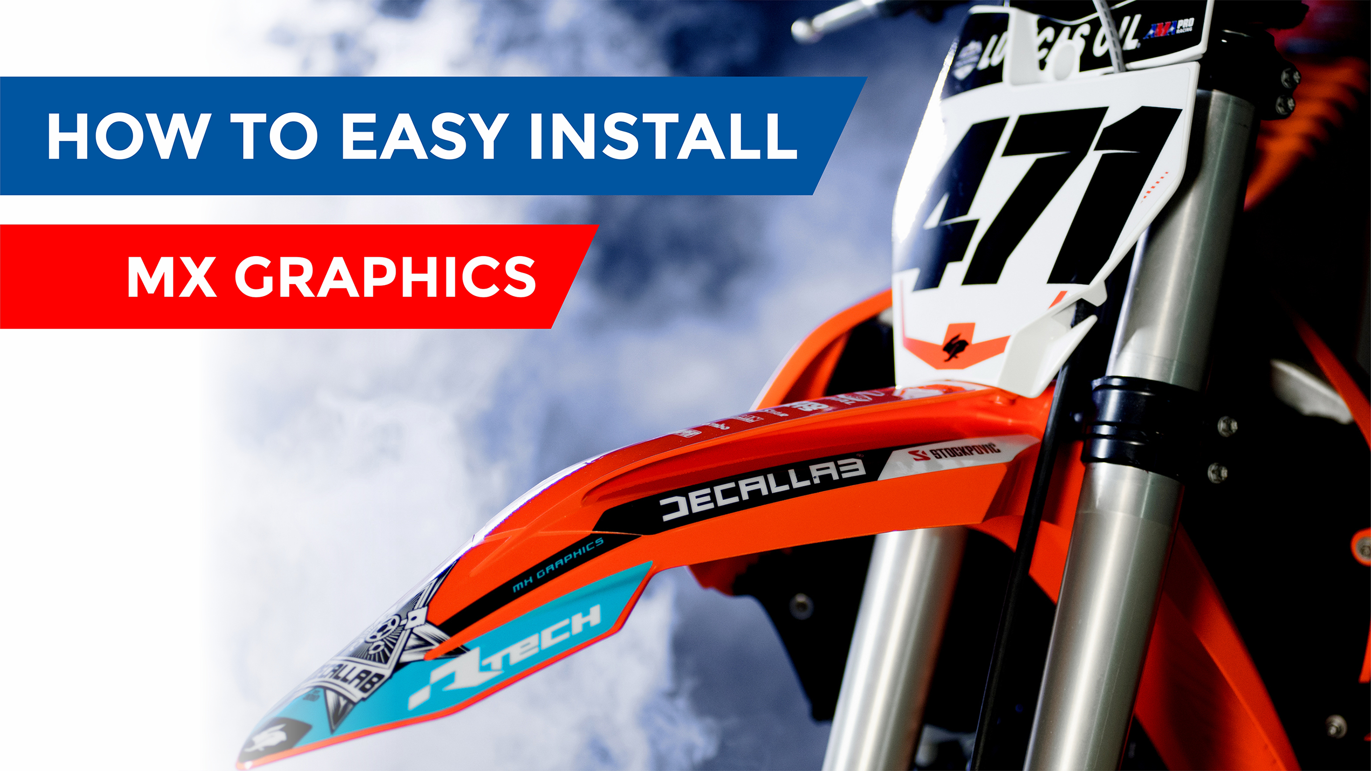 How to install graphics guide