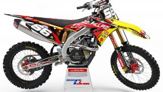decallab SUZUKI factory one time answer decal dirt bike graphics kit RM RMZ yoshimura 125 250 450 2019