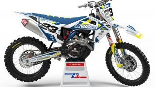 decallab husqvarna factory one time answer decal dirt bike graphics kit fc tc 125 250 450 2019
