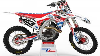 decallab honda factory world mx graphics dirt bike graphics cr crf 65 85 125 250 450 answer fox yoshimura