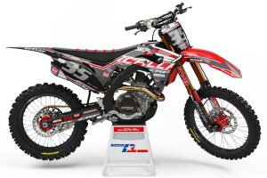decallab honda factory world mx graphics dirt bike graphics cr crf 65 85 125 250 450 usa motul yoshimura