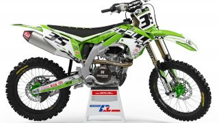 decallab kawasaki factory world mx graphics dirt bike graphics ks kxf klx 65 85 125 250 450 NIKE UNIT yoshimura