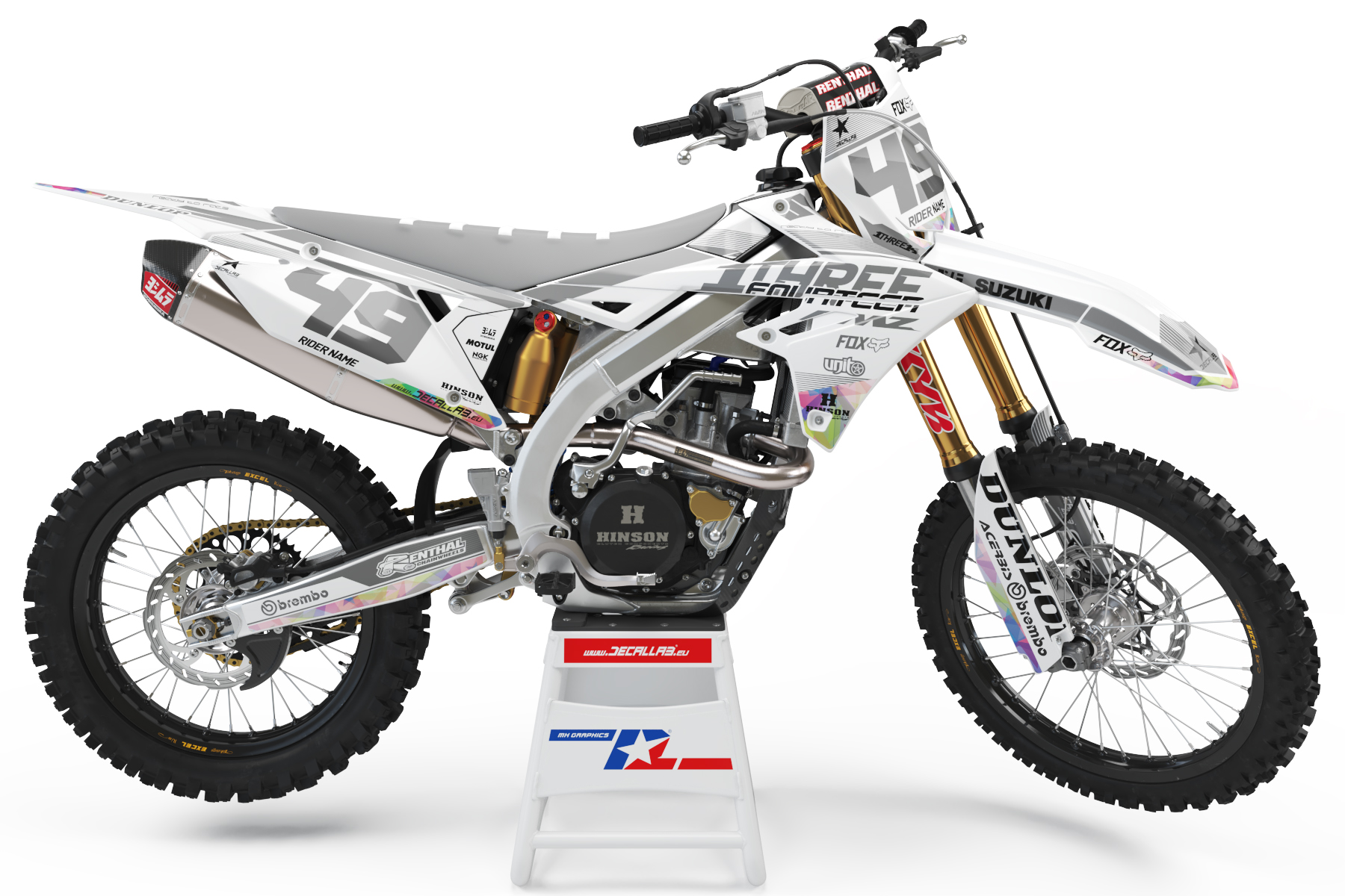 suzuki-rmz-fox-dunlop-thor-oakley-decallab-dirt-bike-stickers-graphics-decals-mx-motocross